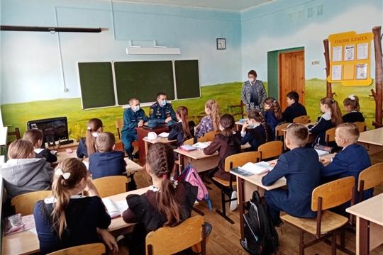 День профилактики пожаров проведен в Большеяльчикском сельском поселении