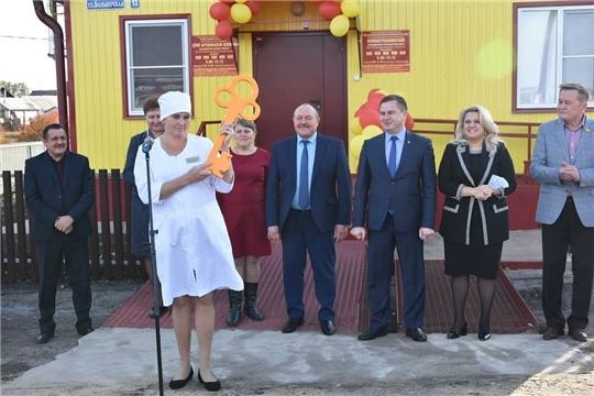 В деревне Новое Арланово Яльчикского района открылся новый фельдшерско-акушерский пункт