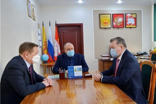 Яльчикский район с рабочим визитом посетил депутат Государственной Думы Российской Федерации Николай Малов