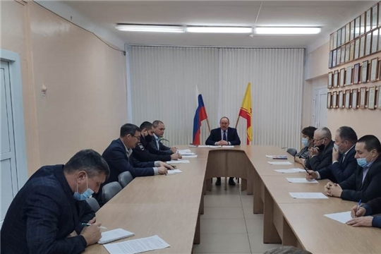 Состоялось заседание районной комиссии по безопасности дорожного движения