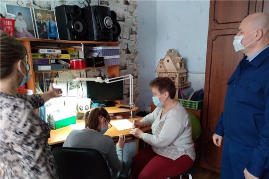 Посетили семьи, воспитывающие детей с ограниченными возможностями здоровья