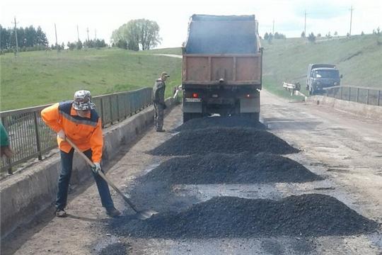 Устранение дефектов дорожного покрытия