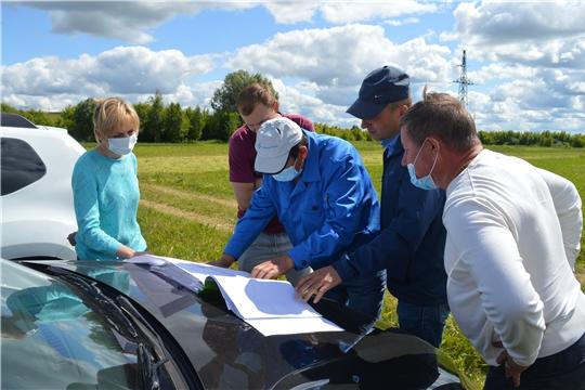 Состоялось рабочее совещание по вопросам строительства станции биологической очистки сточных вод в с.Янтиково