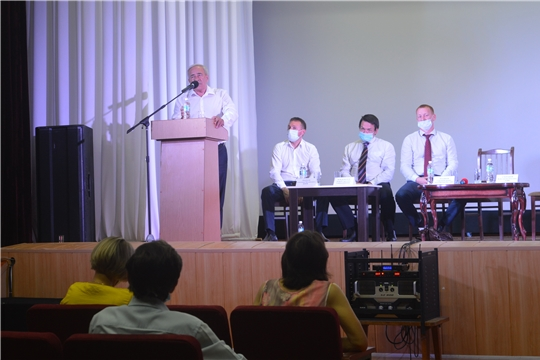 В районе прошла встреча с кандидатами на пост главы республики