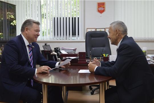 Рабочий визит депутата Государственной Думы Российской Федерации Николая Малова