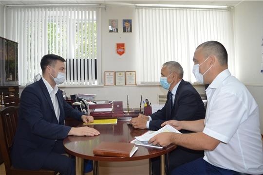 Визит министра образования и молодежной политики Чувашской Республики Сергея Яковлева