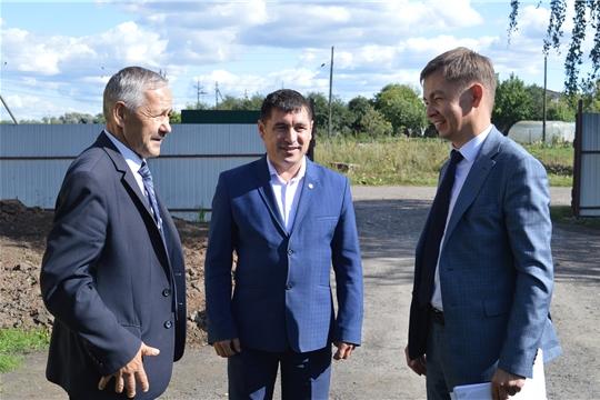 Визит руководителя Госветслужбы в Янтиковский район