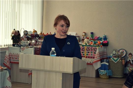 Председатель Чувашской Республиканской общественной организации «Союз женщин Чувашии» Наталья Николаева - в Янтиковском районе
