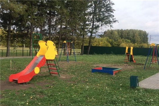 В Янтиковском районе продолжается реализация проектов на юбилейные деньги