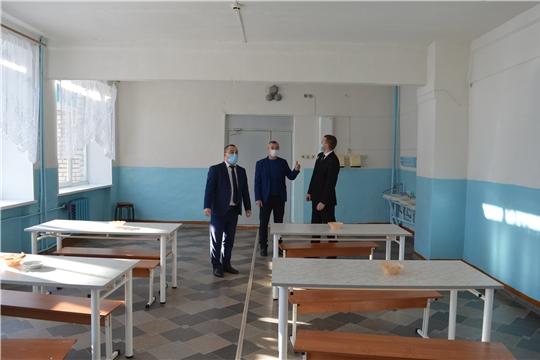Рабочая поездка главы администрации района в образовательные учреждения района