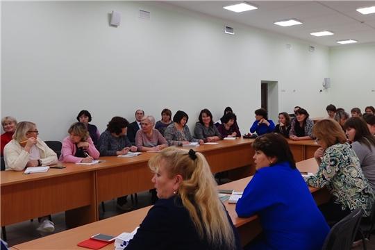 В образовательных учреждениях Цивильского района прошел единый педагогический совет