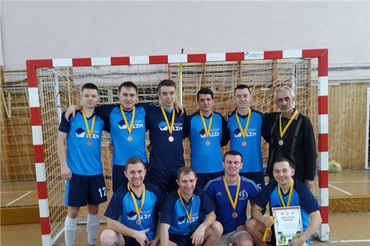 Футбольная команда «Цивильск» - призер первенства Чувашии по мини-футболу