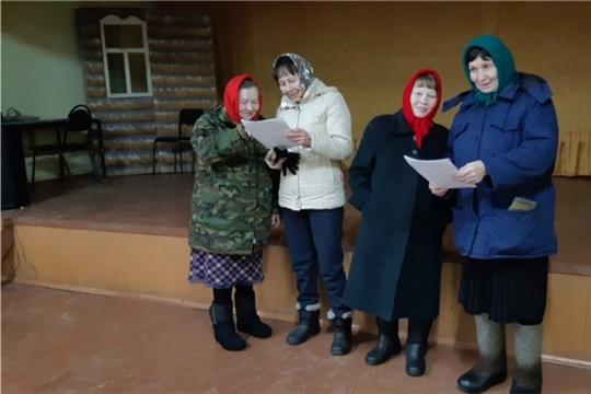 Репетиции театральной группы в д. Искеево-Яндуши