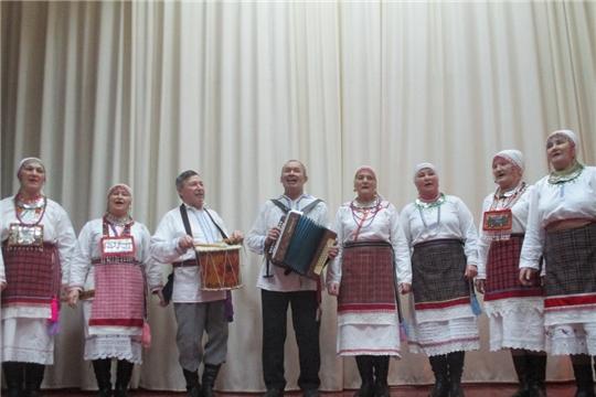 Встреча гостей в д.Михайловка