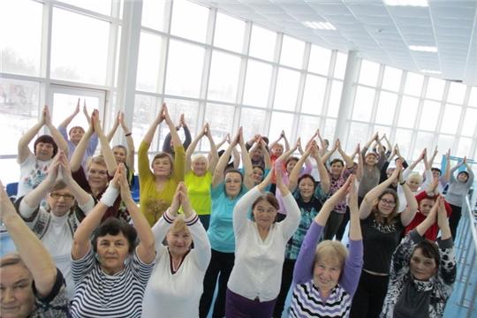 Проект «ФИТНЕС – STAR! Долголетие в наших руках»! для  цивильских пенсионеров