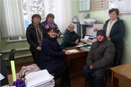 Центр занятости населения Цивильского района продолжает работу по оказанию государственных услуг с выездом в населенные пункты Мобильного офиса