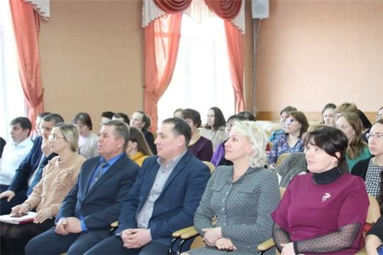 Муниципальные служащие Цивильского района заслушали ежегодное Послание Главы Чувашии Михаила Игнатьева Госсовету республики