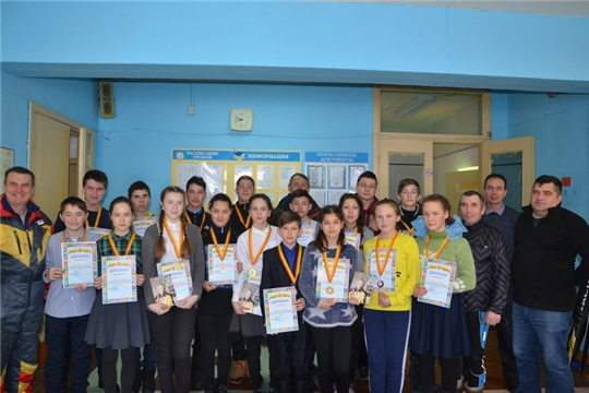 Лыжники Тувсинской школы завоевали все первые места
