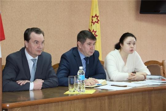 В Цивильском районе прошло рабочее совещание по вопросу обращения с ТКО