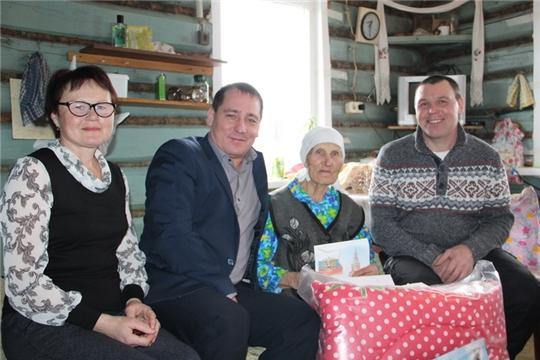 Долгожительница Егорова Федосия Егоровна из Цивильского района отмечает 90-летний юбилей