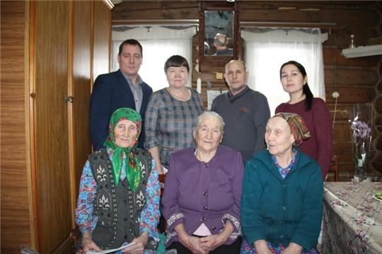 90-летний юбилей отметила жительница д. Татарские Кунаши Арсентьева Дорита Арсентьевна