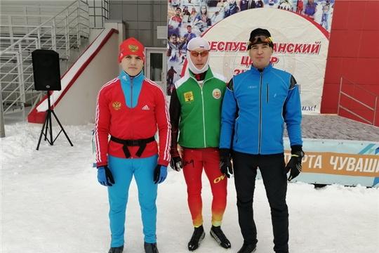 Команда Цивильского района приняла участие в Чемпионате и первенстве Чувашской Республики по лыжным гонкам