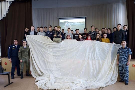Встреча студентов с представителями «Союз десантников России»