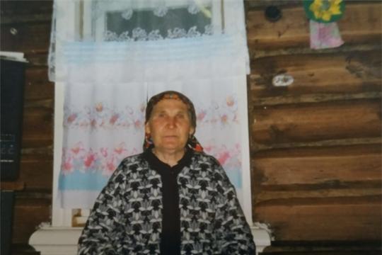 95-летний юбилей отметила жительница д. Искеево-Яндуши Александра Никоноровна Смирнова