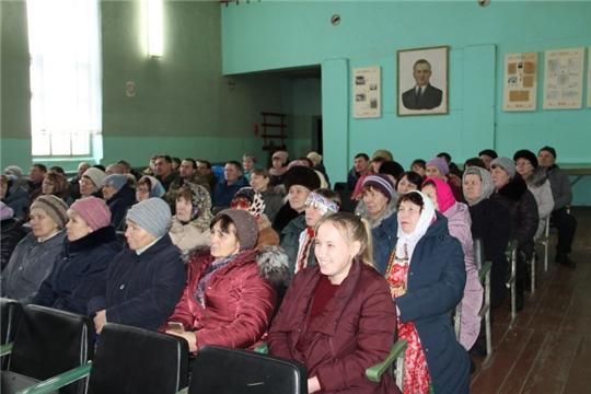 Глава администрации Цивильского района Игорь Николаев встретился с населением Богатыревского сельского поселения