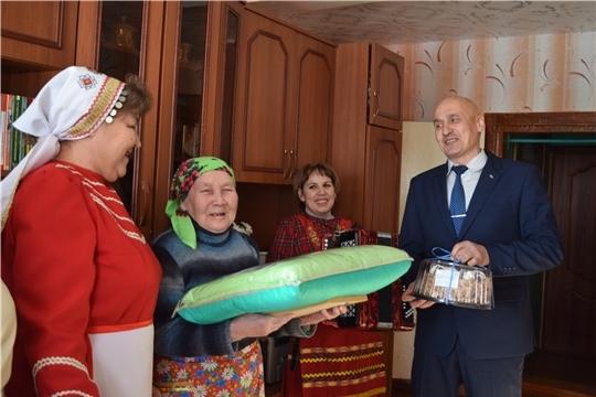 Жительница д. Большое Тугаево Андреева Зоя Арсентьевна отметила 90-летний юбилей