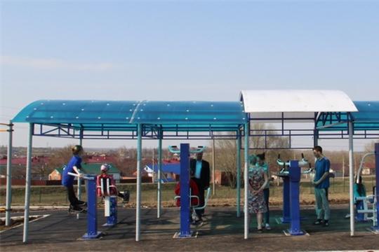 В 2020 году в Цивильском районе в рамках проекта «Спорт – норма жизни» будет построена площадка ГТО