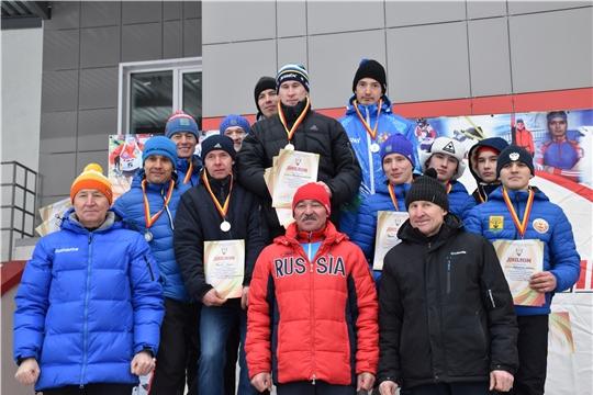 Команда Цивильского района заняла третье место в первенстве Чувашии в эстафетной гонке