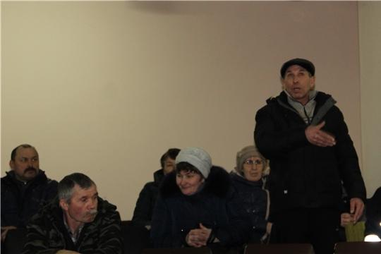Встречи с жителями Цивильского района продолжаются