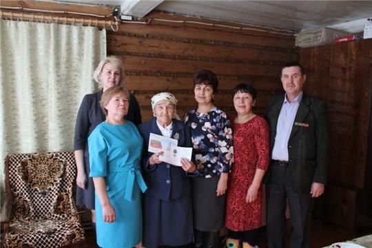 Труженикам тыла вручили юбилейные медали в честь 75-летия Победы в Великой Отечественной войне