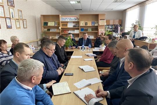 Состоялось выездное заседание антинаркотической комиссии Цивильского района