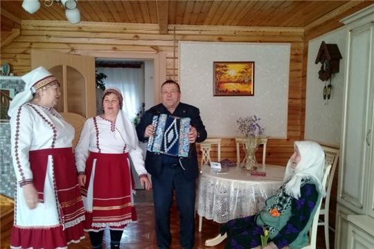 В Поваркасинском поселении вручены юбилейные медали «75 лет Победы в Великой Отечественной войне»