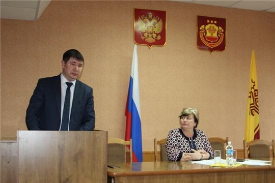 Состоялось внеочередное заседание Собрания депутатов Цивильского района