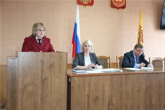 Состоялось заседание КЧС и ОПБ Цивильского района