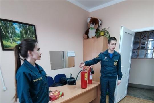 Встреча с добровольцами по теме профилактики и тушения пожаров