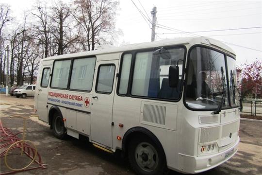 С начала года около 700 жителей Цивильского района обследовалось в мобильном медицинском комплексе