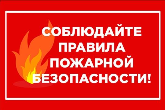 Находясь дома, помните о правилах пожарной безопасности!