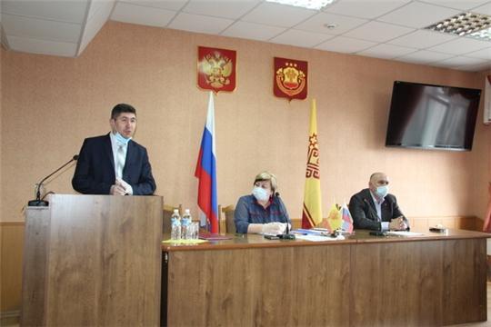 На заседании районного Собрания депутатов назначен глава администрации Цивильского района