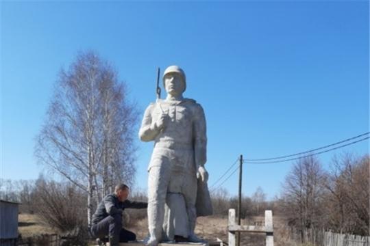 В д. Новое Сюрбеево ведется строительство памятника «Воинам Великой Отечественной войны 1941-1945 гг.»