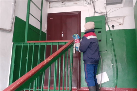 Дезинфекция многоквартирных домов п. Опытный