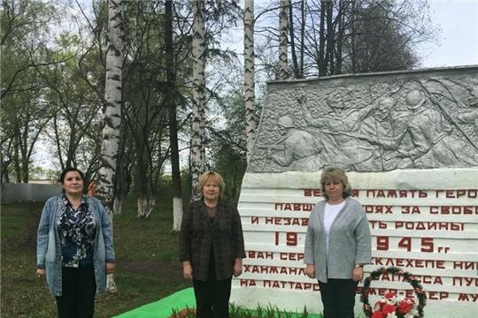 В рамках празднования 75-ой годовщины Победы в Великой Отечественной войне в школе п. Опытный проходит акция «Салют, Победа!»