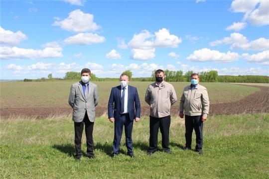 Рабочая поездка главы администрации Цивильского района Сергея Беккера по сельскохозяйственным организациям района
