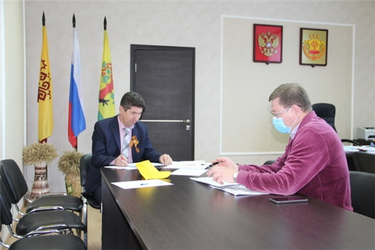 Работа с обращениями граждан - одно из важнейших направлений деятельности администрации Цивильского района