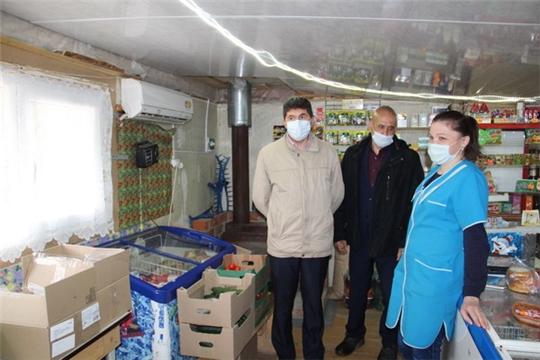 Рабочая поездка главы администрации Цивильского района в Первостепановское сельское поселение
