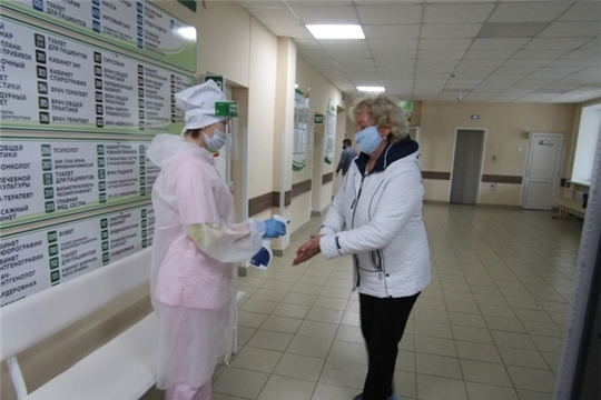 В Цивильской районной больнице выполняются мероприятия по недопущению распространения короновирусной инфекции