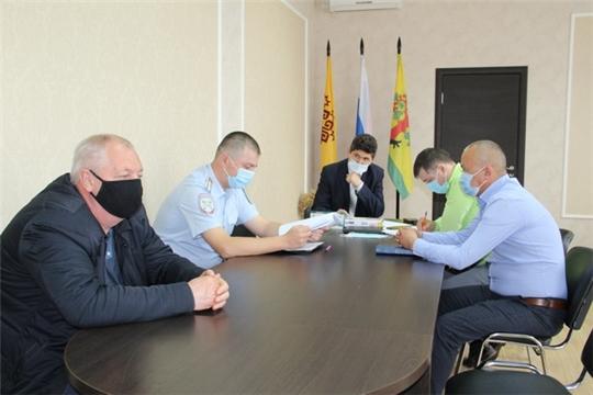 Заседание комиссии по безопасности дорожного движения Цивильского района